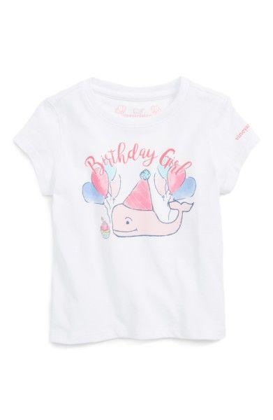 a5fc6084c Main Image - Vineyard Vines Birthday Girl Whale Graphic Tee (Toddler Girls)