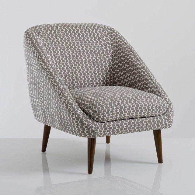 299 fauteuil vintage semeon la redoute interieurs