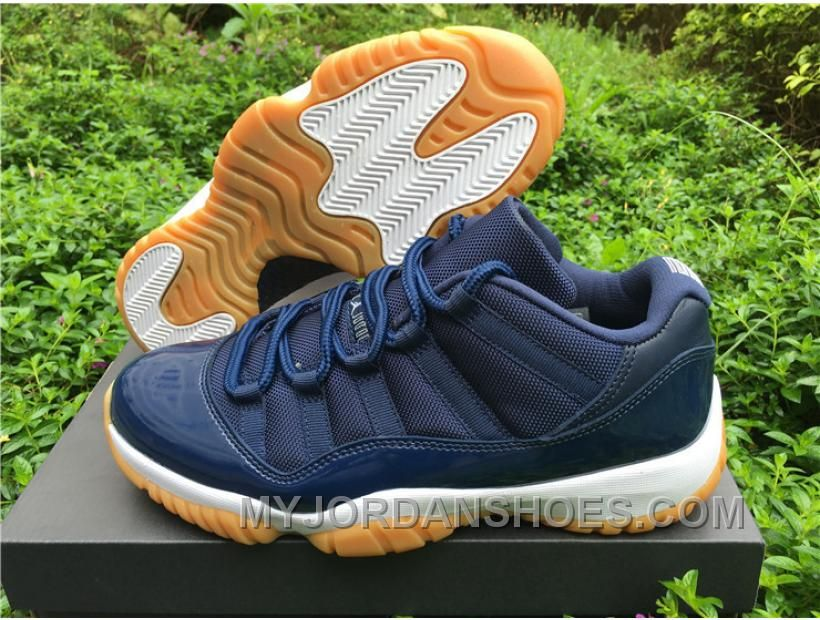 ceeb247612112a Air Jordan 11 Low Navy Gum 41---47.5 BDZAJ