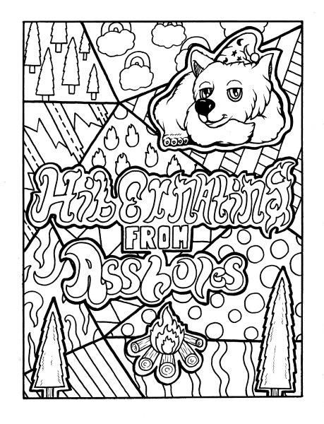 70+ FREE swear word coloring pages. Free printable adult ...