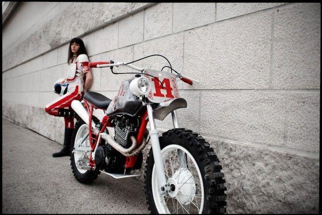 Yamaha XT 550 Bobber Fucker Fuckin ´80 - Lsr Bikes | Women
