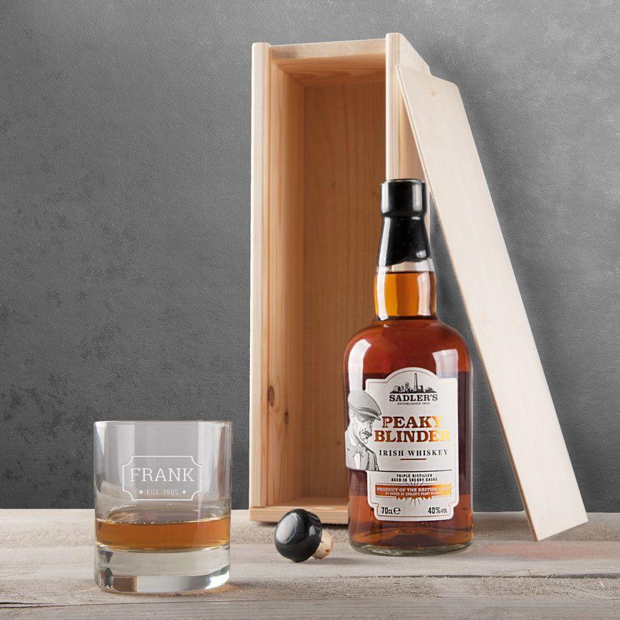 Peaky blinders whisky set whiskey gift set whiskey