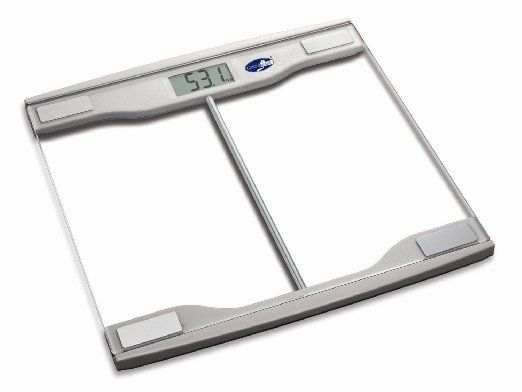 In Stock Now - Great affordable digital scale!  Amazon.com: Sleek and Modern Glass Digital Bathroom Scale: Health & Personal Care  #health #fitness #loseweight