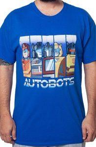 Transformers Sentient Autobots T-Shirt