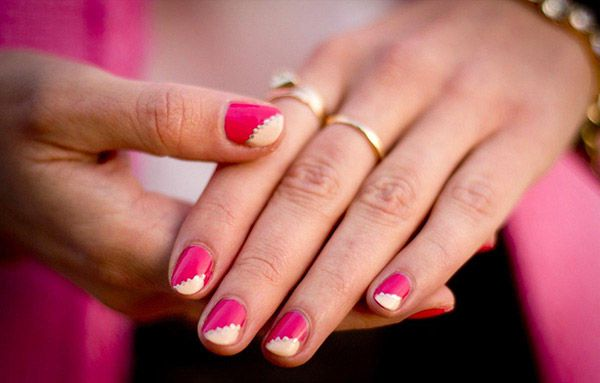 Get smarty creative with cool nail designs to do at - Different nail designs to do at home ...