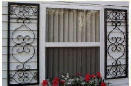 Shutters Wrought Iron Home Decor Pinterest Wrought Iron Iron And Porch