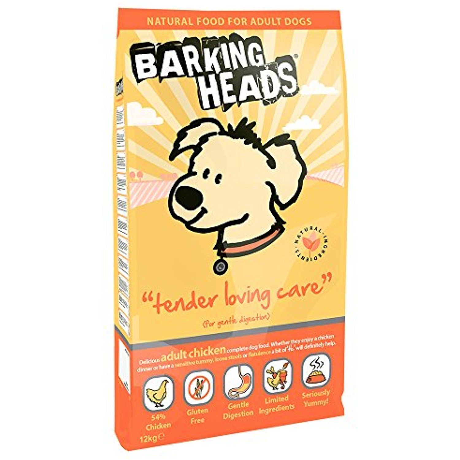 Barking Heads Tender Loving Care Chicken And Rice Dry Mix 12 Kg