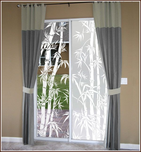 Big bamboo etched glass privacy film window treatments pinterest big bamboo etched glass privacy film bamboo designdecorative windowssee throughwindow filmpatio doorswindows planetlyrics Images