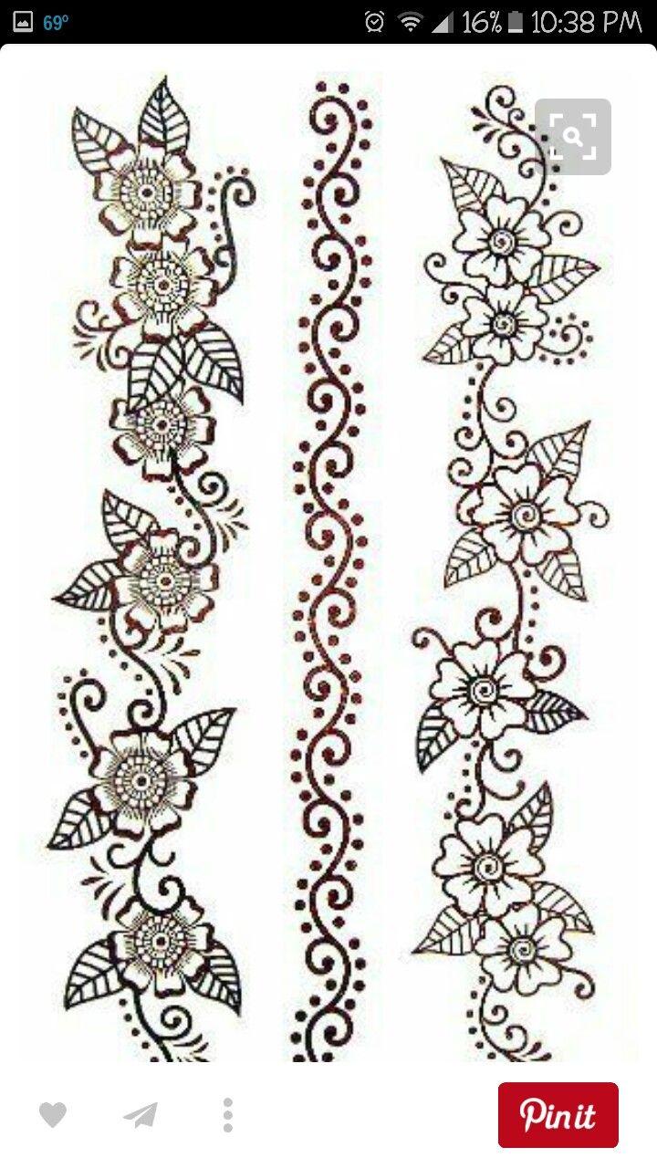 Bracelet patternsfabric paint embriodery etc pinterest