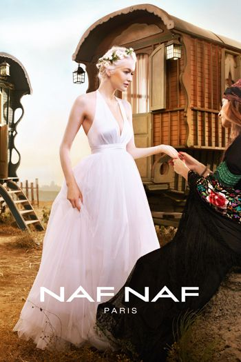 Naf naf vestidos fiesta 2012