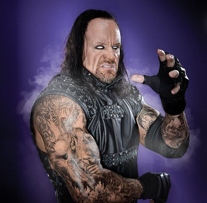 how old is wrestler undertaker