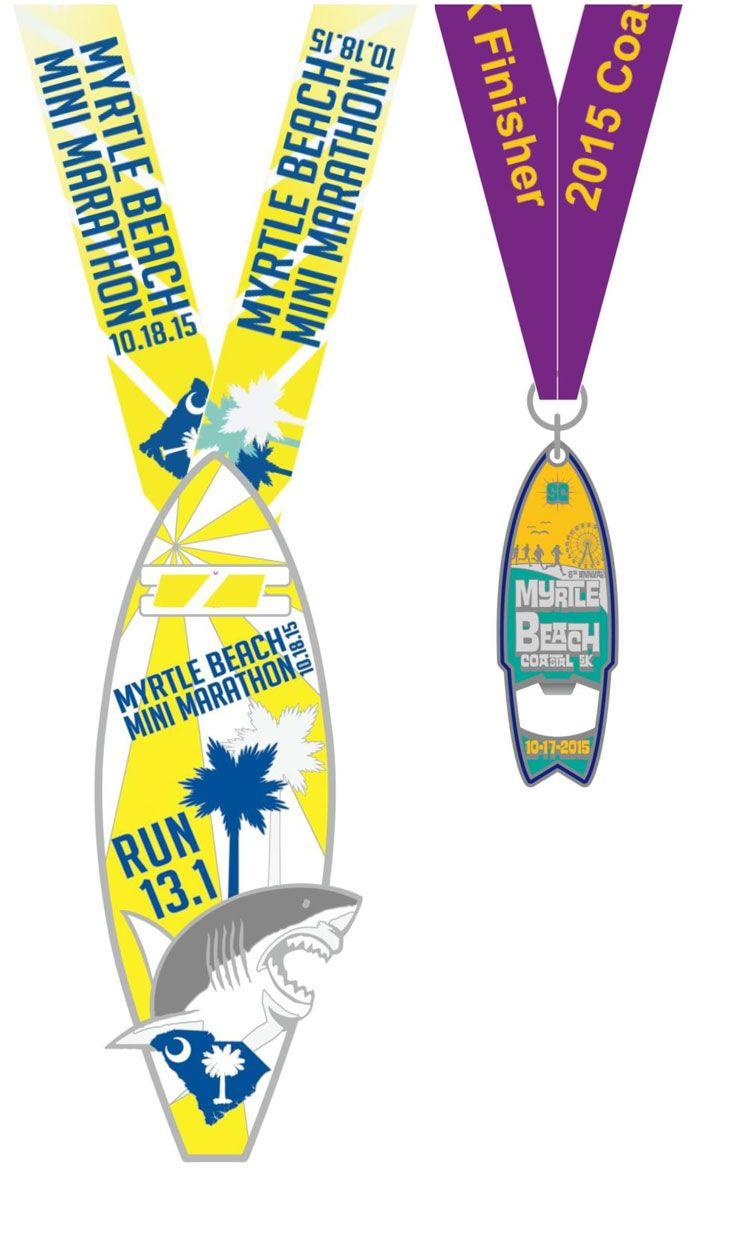 2015 MB Mini Finisher Medals