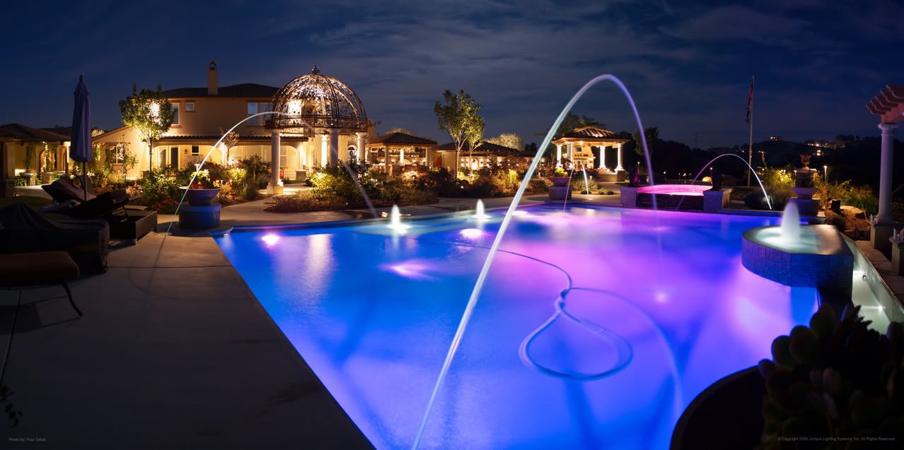 pool deck lighting ideas. Above Ground Pool Lights On WinLights.com | Deluxe Interior Lighting Design Deck Ideas G
