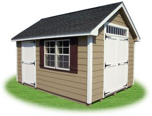 10x14 Lp Horizontal Shiplap Sided Cape Cod Storage Shed With New England Package Architectural Shingles Siding Options Single Entry Doors