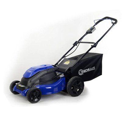 Kobalt 40 Volt Lithium Ion 19 In 3 1 Cordless Electric Push Mower 2500903