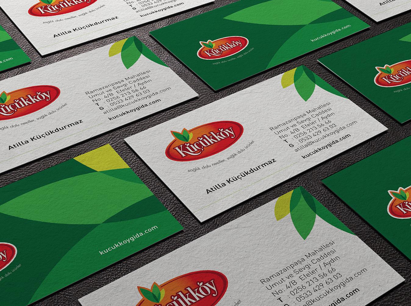 küçükköy markası için yapılan kurumsal kimlik çalışmaları. kurumsal ajans & tedarikci olarak ajansımızı tercih ettikleri için teşekkür ederiz. cagajans.com.tr