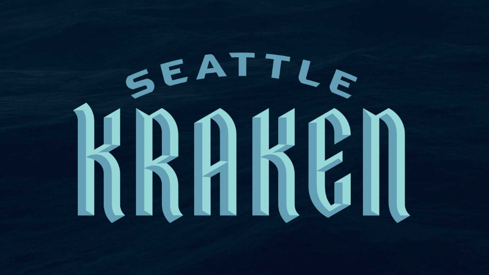 Seattle's slappin' Kraken Brand Launch July 2020 branding