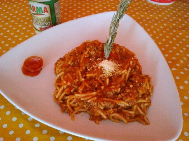 Spagetti ala bolognesa