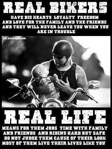 Real facts about real bikers