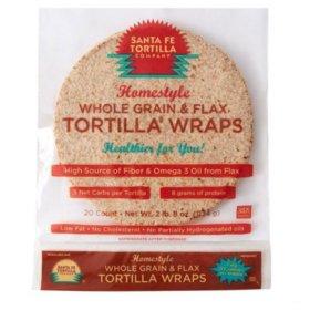 Santa Fe Tortilla Homestyle Whole Grain Tortilla 40oz Sam S Club Tortilla Wraps Whole Grain Tortilla