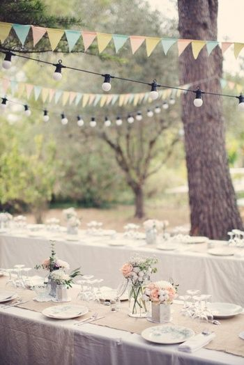 Mariage : 35 idées déco de jardin dénichées sur Pinterest | Wedding