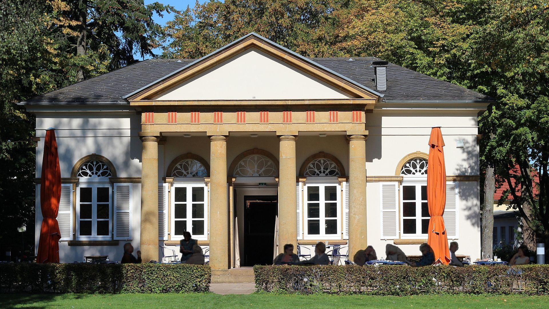 Karl Friedrich Schinkel Bielefeld Pavillon Gartenhaus