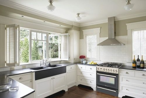 17 Best images about no upper kitchen cabinets on Pinterest | Blue ...