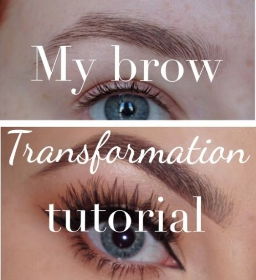 Drugstore Brow Routine: 0 to 100 | Tutorial | Transformation