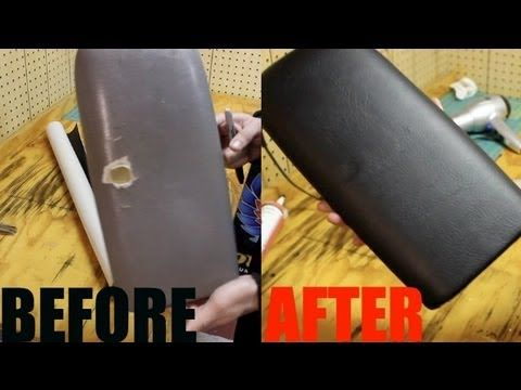 c5a69c96e63 HOW TO  Wrap Vinyl On a Center Console Cover - YouTube