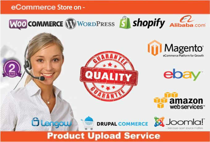 upload product information and images on your eCommerce store by likeguru