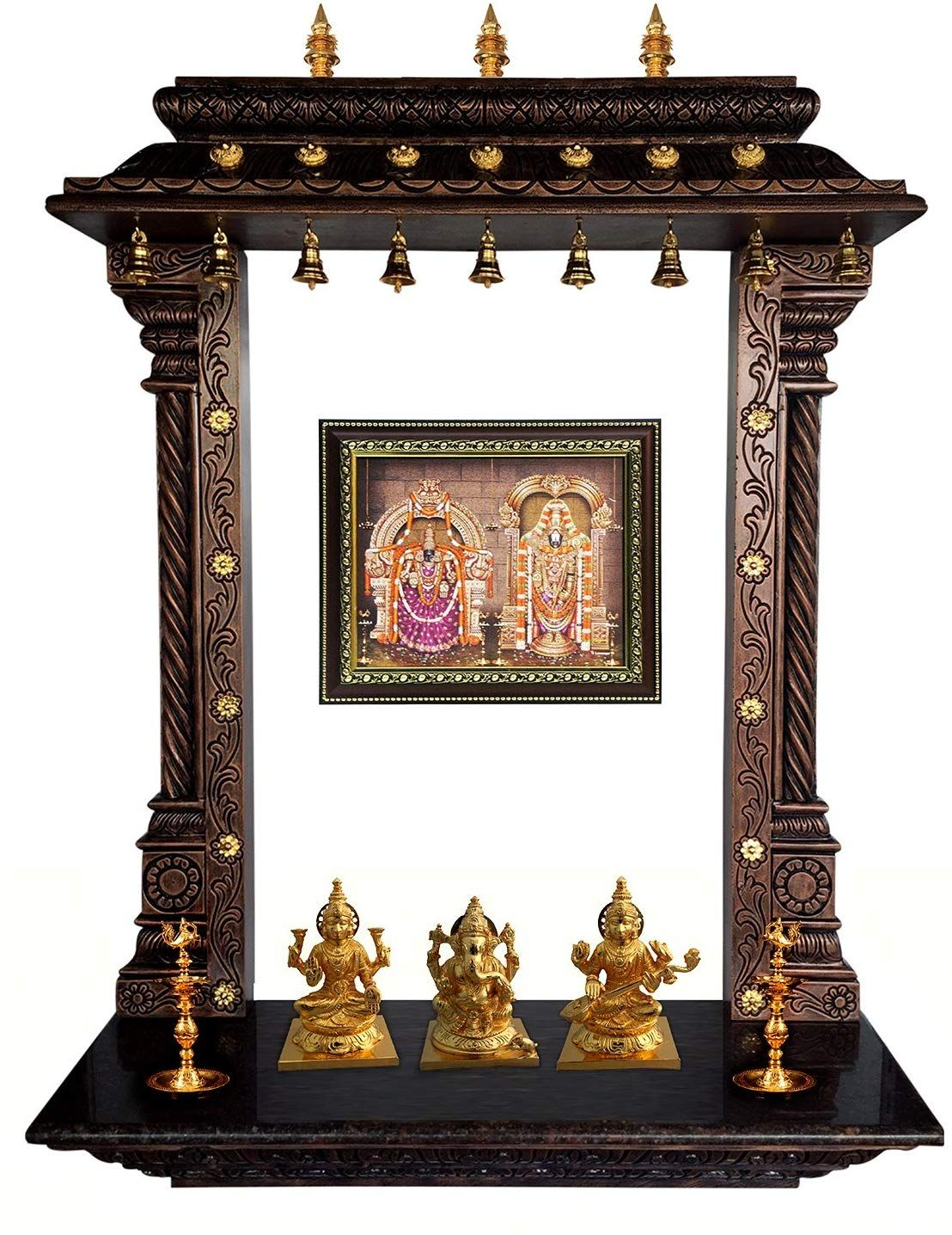 Image Result For Mantras On Pooja Room Door: Buy MANTRA Wall Mounting Pooja Temple/Mandir / Mandapa
