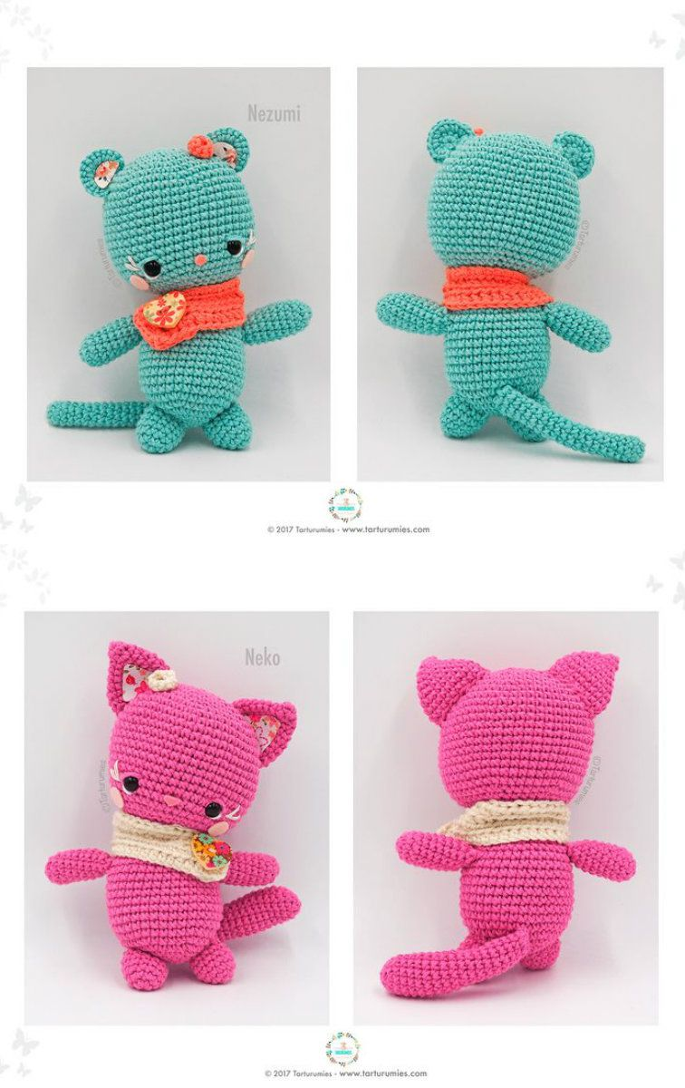 Amigurumis Little Kawaii Free Crochet Pattern | Amigurumis, Toys ...