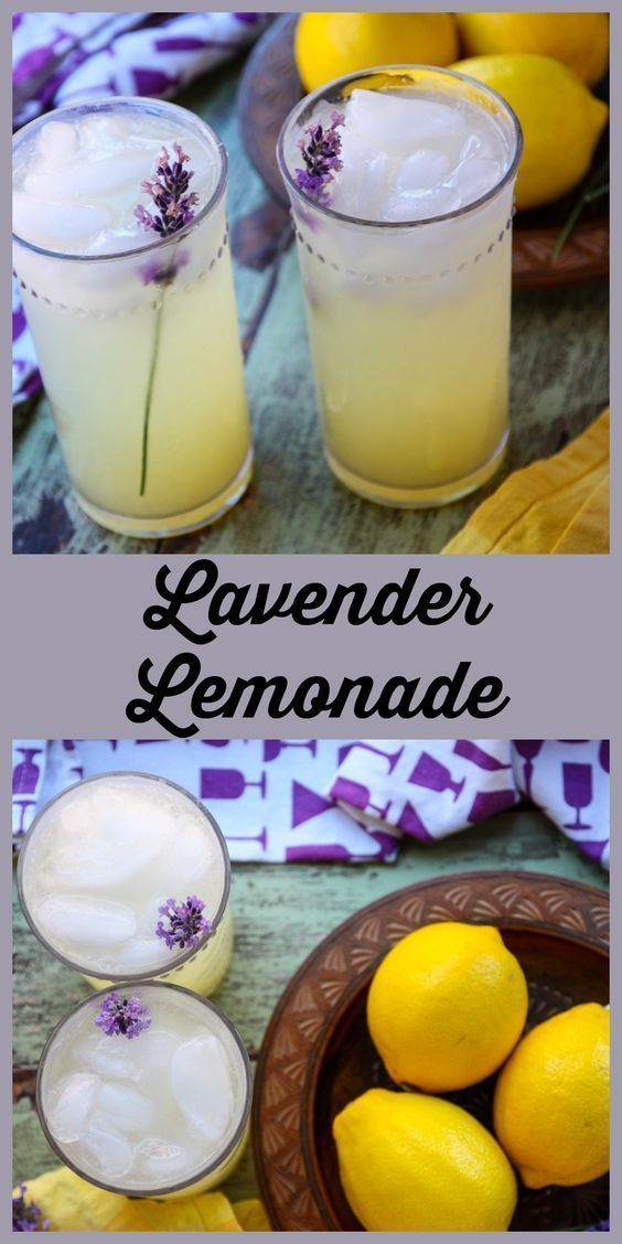 Lavender Lemonade - Lemonade Recipe | The Food Blog