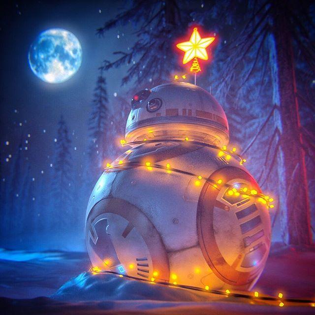 A Starwars Theriseofskywalker Christmas Art By Pham Anh Vu Via Artstation Instagram Edit By Geek Star Wars Wallpaper Star Wars Art Star Wars Humor