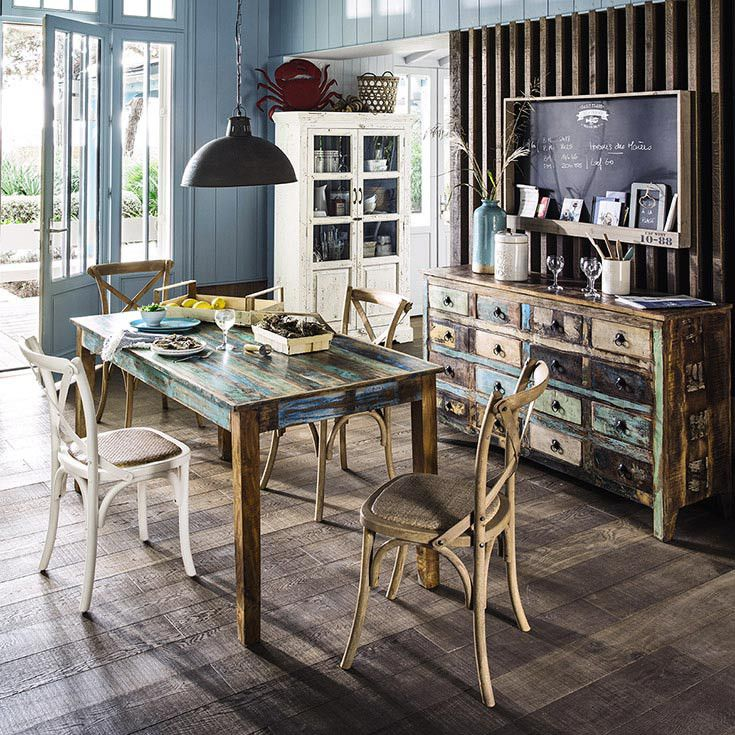 arredare casa al mare arredamento marinaro maisons du monde home sweet home pinterest. Black Bedroom Furniture Sets. Home Design Ideas