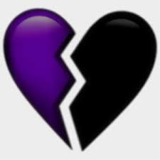 Brokenheart Emoji Purple Aesthetic Tumblr Png Aesthetic Transparent Broken Heart Emoji Cliparts Cartoons Purple Aesthetic Broken Heart Emoji Tumblr Png