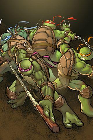 Teenage Mutant Ninja Turtles Wallpaper for iPhone