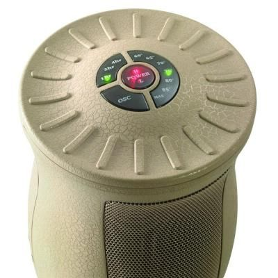 Lasko Designer Series 1500 Watt Oscillating Ceramic Electric Portable Heater With Remote Control 6435 The Home Depot Ceramic Heater Lasko Portable Heater