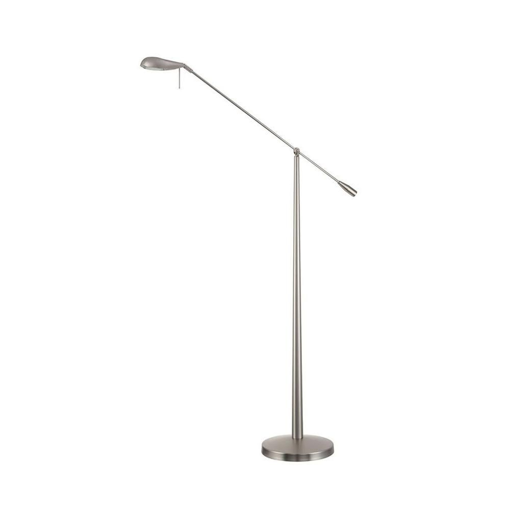 Filament design cassiopeia in nickel halogen floor lamp floor