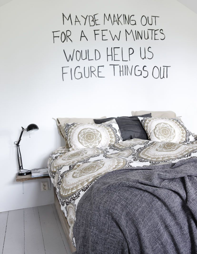 Fun bedroom wall art ikea family itus mostly true though right