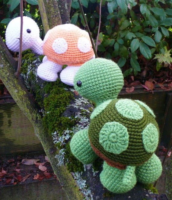 Summer Sale Wandering Turtle crochet pattern PDF | Handarbeiten ...