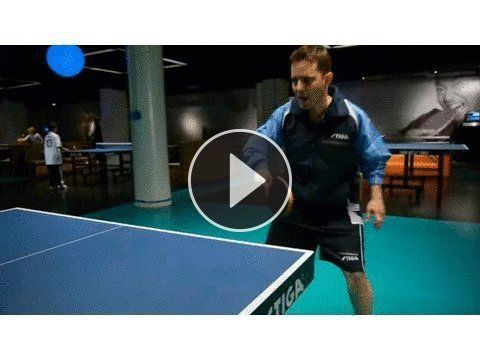 How To Do A Table Tennis Forehand Smash Ping Pong Tennis Forehand Table Tennis Ping Pong