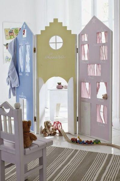 Casas para decorar habitaciones infantiles, una tendencia deco