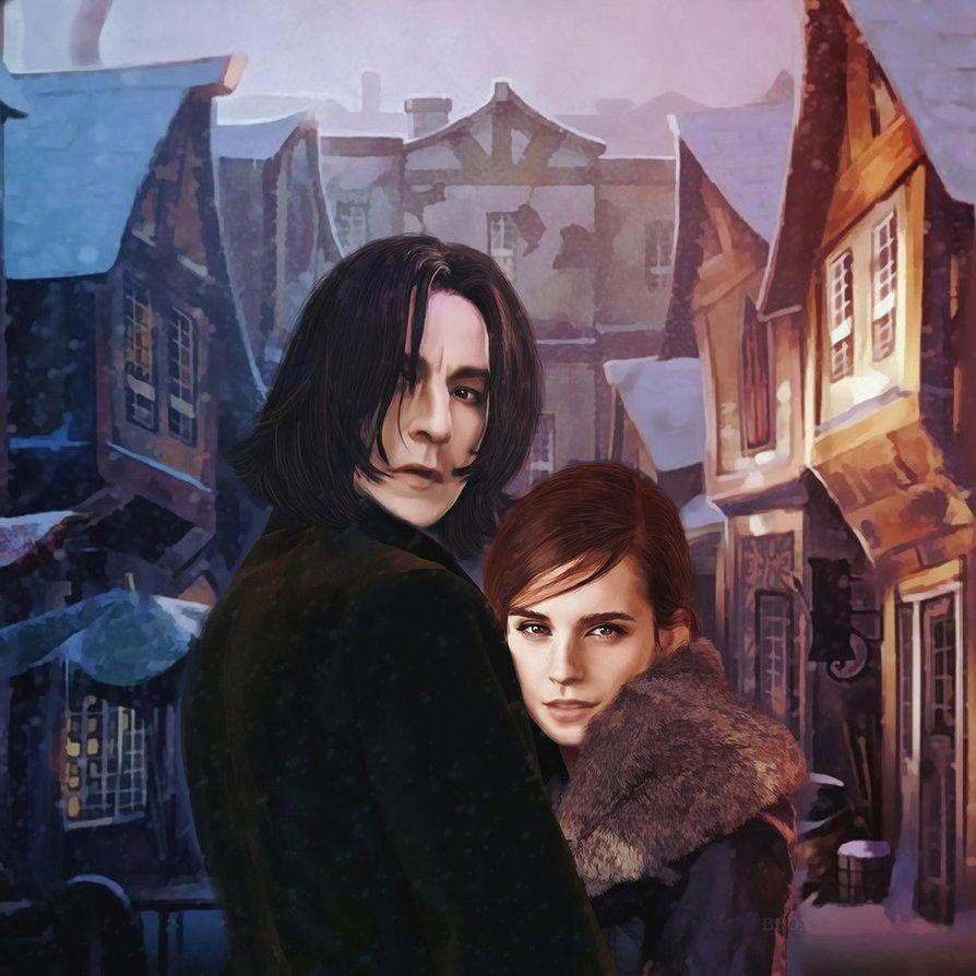 Severuss Nape And Hermione Granger Severus Snape Hermione Granger Snape And Hermione Severus Snape