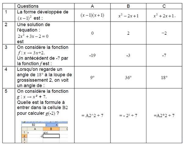 Brevet de maths 2020 : sujet blanc pour réviser à télécharger en PDF. en 2020 | Maths 3eme ...