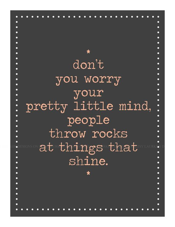 Pretty Little Mind With Images Words Inspirational Words Quotes