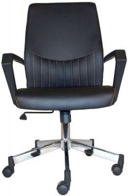 Alphason Brooklyn Chair Aoc3122 Blk Chair Black Faux Leather