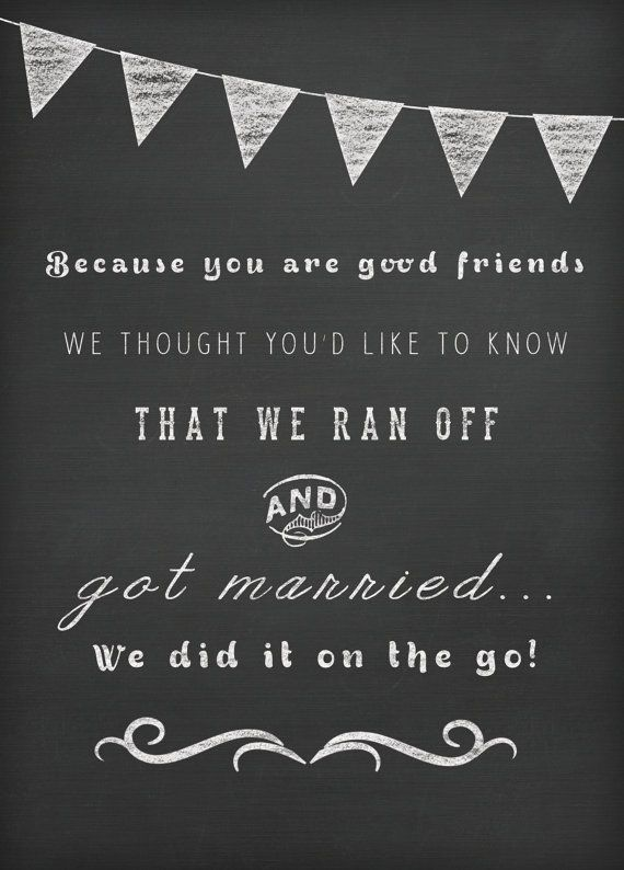Courthouse wedding invitation ideas