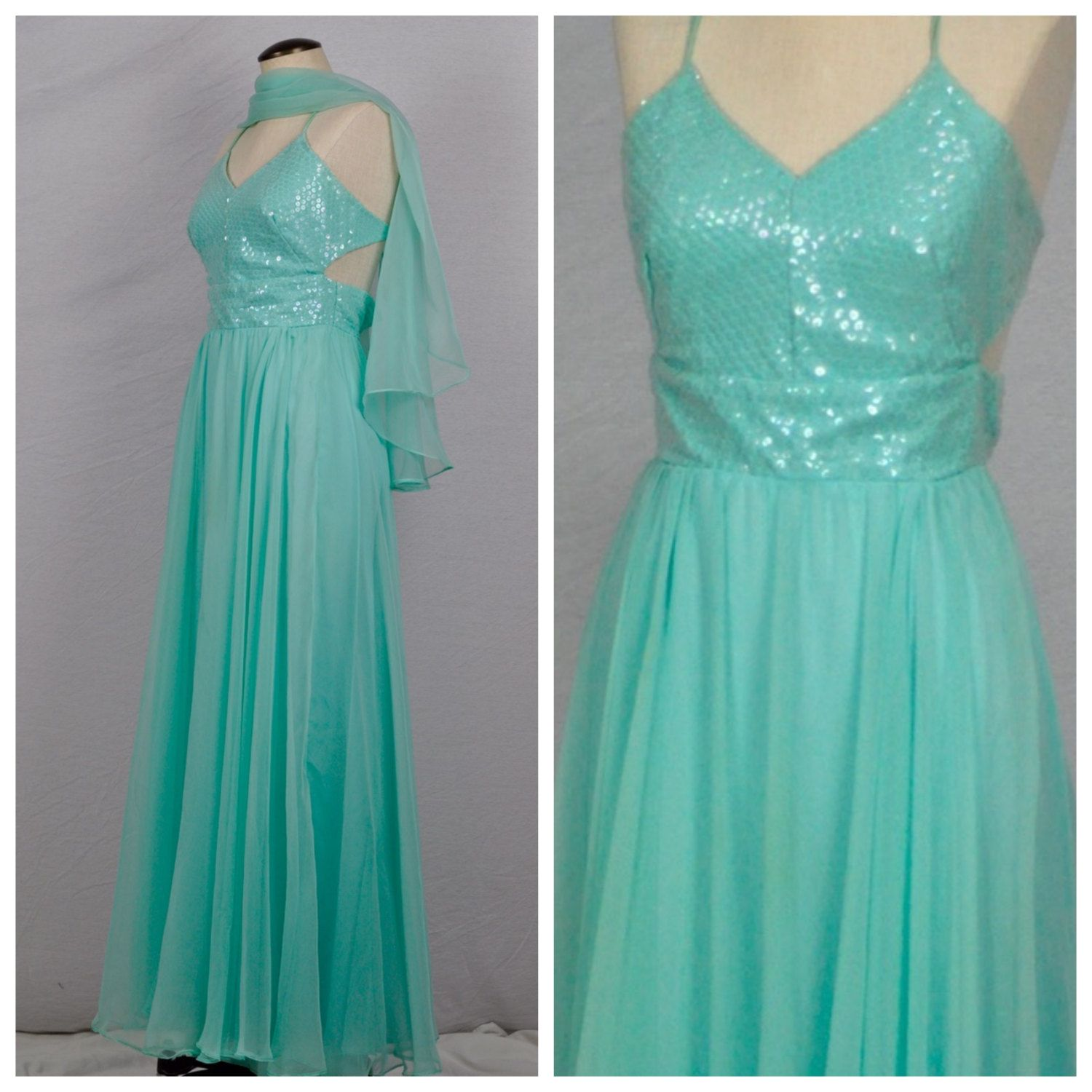 Vintage 1980s Sequin Prom Dresses | Dress images