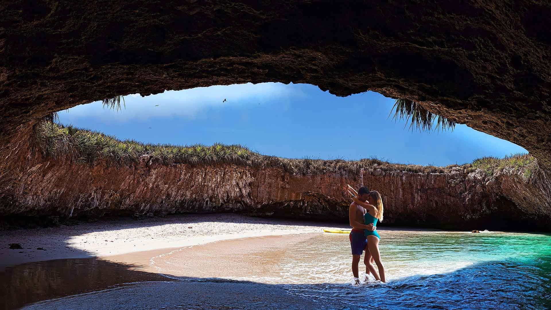 Hidden Beach Mexico B Stunning Locations Pinterest